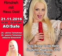 AO/Safe Filmdreh mit Alexa Gold in Siegen