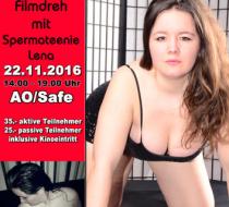 AO/Safe Filmdreh mit Spermateenie Lena in Bonn