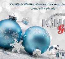 Frohe Weihnachten und ein frohes neues Jahr