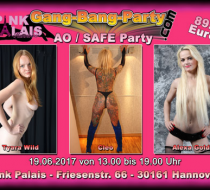 AO / Safe Gang Bang Party in Hannover