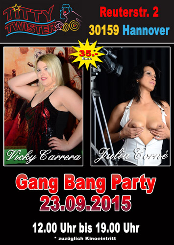 pornos legal gangbang party hannover