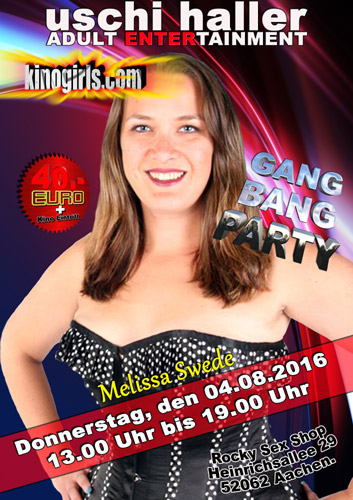 wilde gangbanb party mit teenie girl lexxi