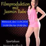 Filmproduktion mit Jasmin Babe in Aachen