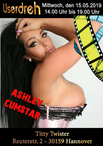 Amateur Filmdreh mit Ashley Cumstar in Hannover