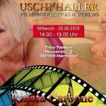 Filmdreh mit Rinata Carbone  in Hannover